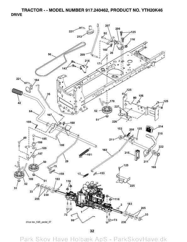 main drive belt diagram husqvarna  main  free engine image for user manual download Husqvarna YTH2348 Riding Mower Seat Adjustment Husqvarna Suspension Seat