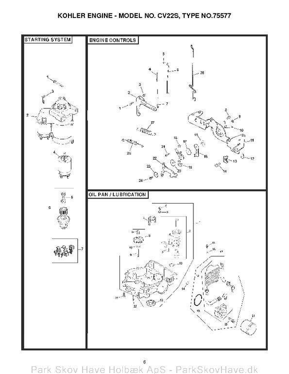 Kohler Cv22s Wiring Diagram