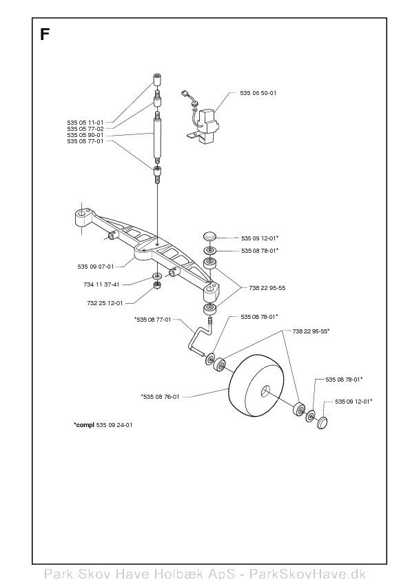 Reservedel Husqvarna Solar Mower, 2001-01  side 5