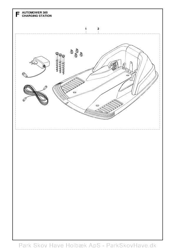 Reservedel Husqvarna Automower 305, 2011-04, rev1  side 12