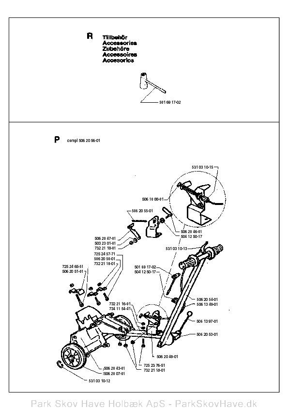 Reservedel Husqvarna 272 S 199412 Stump Grinder Side 7: Husqvarna Stump Grinder Wiring Diagram At Teydeco.co