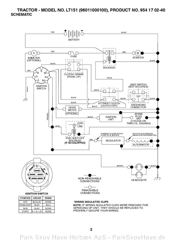 Husqvarna Wiring Schematics Husqvarna Lt Wiring Diagram Solution Of